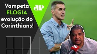 """""""O Corinthians MUDOU com o Mancini e agora pode…"""" OLHA o que Vampeta falou do Timão!"""