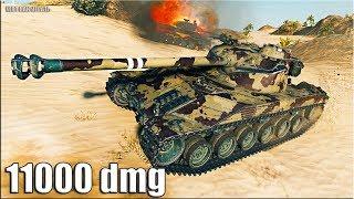 Как играют СТАТИСТЫ на Bat.-Chatillon 25 t 🌟 11000 dmg 🌟 World of Tanks максимальный урон