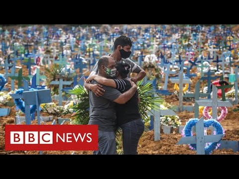 Half a million Covid deaths in Brazil as calls grow for President to be impeached - BBC News