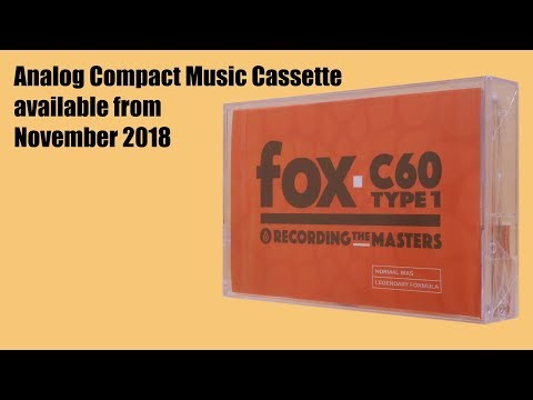 Compact Cassette RecordingTheMasters FOX C-60 (visual demonstration only) ⁴ᴷ