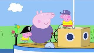 Peppa Big S03E11 Polly's Boottochtje