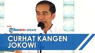 Saat Ibu-ibu Curhat Kangen Jokowi dan Benci Prabowo, Presiden sampai Angkat Tangan