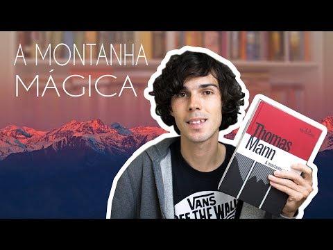 Livro A Montanha Mágica - Thomas Mann