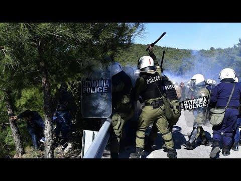 Λέσβος: Νέα επεισόδια στην Καράβα – Γενική απεργία την Τετάρτη…