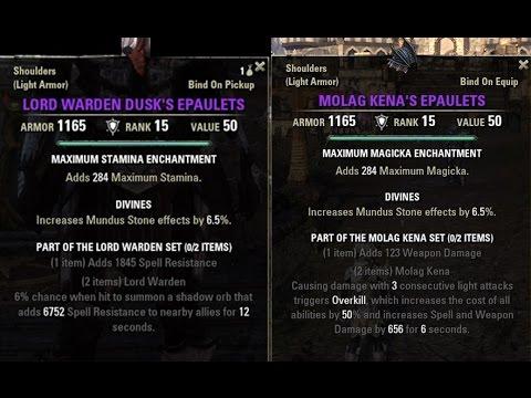 eso armor value