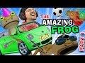 BEST GAME EVER!  The Amazing Frog that Farts Part 1 w/ FGTEEV Duddy (I Stole a Cop!) HA HA HA