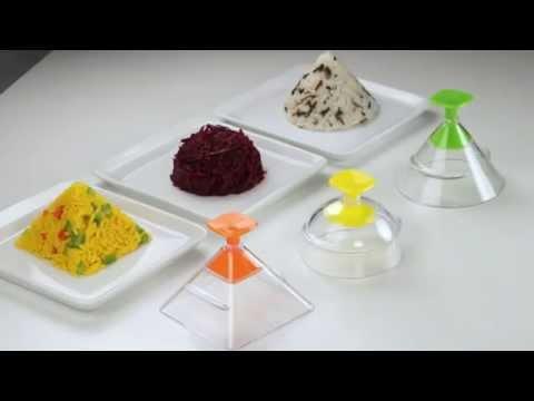 Video Tescoma Presto Foodstyle 3D formičky pro tvarování 1
