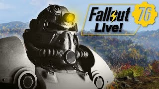 Exploring in Fallout 76! - Fallout 76 PC BETA Gameplay (Archived Livestream)
