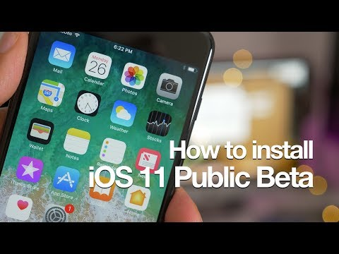 How-To: Install iOS 11 Public Beta