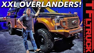 These Are Ford's Biggest And Baddest SEMA Trucks! 2019 SEMA Debuts