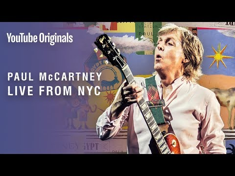 [סטרימינג] Paul McCartney: בהופעת בזק היסטורית בניו יורק