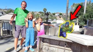 Pond Monster Destroys Our Lake House!!!