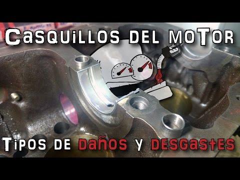 Casquillos del motor, tipos de daños y desgastes | (En español)