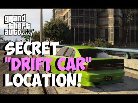 "GTA 5 Online - Secret ""DRIFT CAR"" Spawn Location! Karin Intruder ""DRIFTING CAR"" (GTA 5 Rare Cars)"