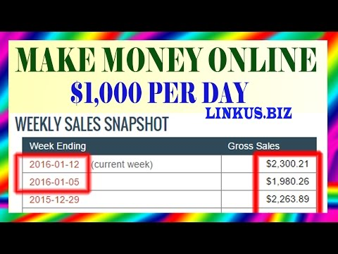 How To Make Money Online – Best Way To Make Money Online Fast 2017 Earn $1,000 Per Day