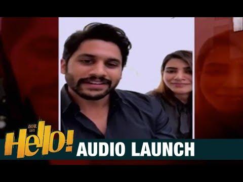 Naga Chaitanya   Samantha Special Wishes To HELLO Movie
