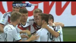 Mario Götze Germany vs Argentina 2014 FIFA World Cup Goal.