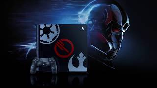 Star Wars Battlefront II - Limited Edition PS4 Pro Trailer   PlayStation