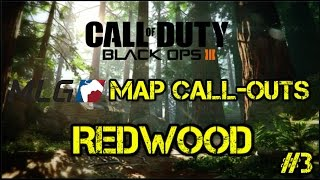 MLG Map Call-outs for Redwood | Competitive Tips | Call of Duty: Black Ops 3