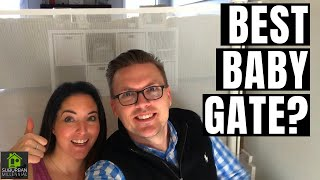 Retract-A-Gate Review -The BEST Baby Gate!!
