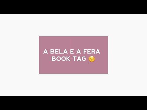 A BELA E A FERA BOOK TAG | Livraneios