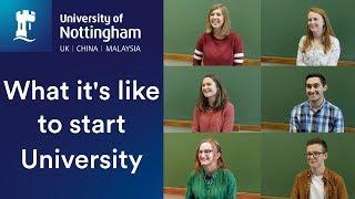 What it's like to start University