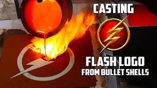 "Making ""Gold"" The Flash Logo"