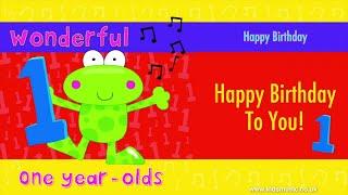 Kidzone - Happy Birthday To One Year Olds