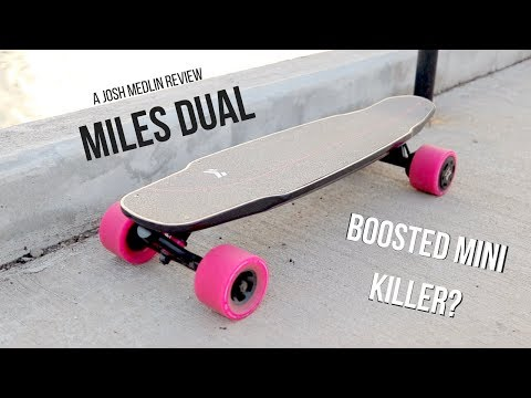 MILES DUAL – [2018] BEST SMALL ELECTRIC SKATEBOARD