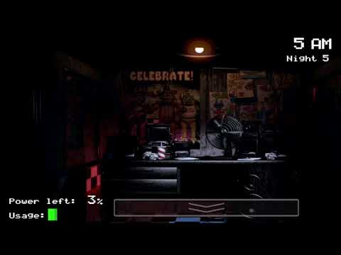 I CANT PASS THE FIFTH NIGHT!!!; Five Nights At Freddy's