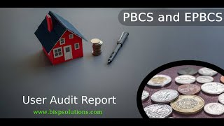 Oracle Planning and Budgeting Cloud Service User Audit Report