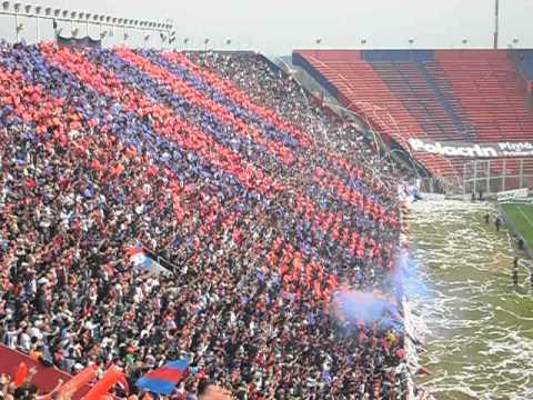 """Recibimiento ESPECTACULAR de San Lorenzo vs instituto 2012"" Barra: La Gloriosa Butteler • Club: San Lorenzo • País: Argentina"