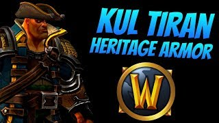 Updated Kul Tiran Heritage Armor | Patch 8.1.0 | World of Warcraft Battle for Azeroth