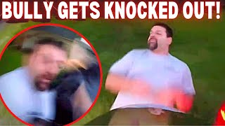 KNOCKOUT! WHEN BIKERS FIGHT BACK! | ULTIMATE MIRROR SMASHING | ROAD RAGE 2021