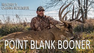 Chasing November S2E19: Point Blank Booner, 186-Inch Buck of a Lifetime