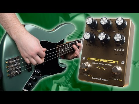 One Phaser To Rule Them All! - Seymour Duncan Polaron [Bass Demo]