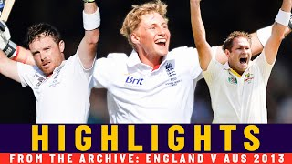 Root Maiden Ashes Ton, Bell Class & Harris 5-fer | Classic Match | England v Australia 2013 | Lord's