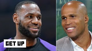 The Lakers should listen to LeBron's input on free agency deals - Richard Jefferson | Get Up