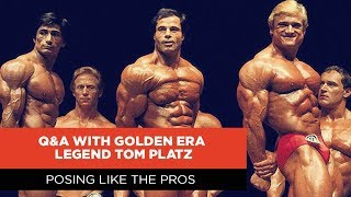 Posing Like the Pros | Q&A with Golden Era Legend Tom Platz