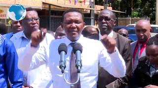 Alfred Mutua orders the closure of private pharmacies located close