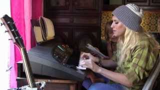 Ke$ha And Pebe Working On Warrior My Crazy Beautiful Life
