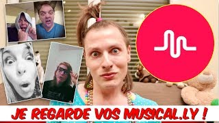 JE REGARDE VOS MUSICAL.LY ! NADEGE CANDLE