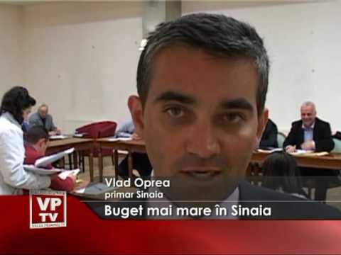 Buget mai mare în Sinaia