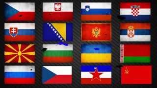 Anthems of slavic states - Hymny slovanských štátov | HQ, HD