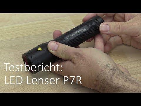 LED Lenser P7R im Taschenlampen Test
