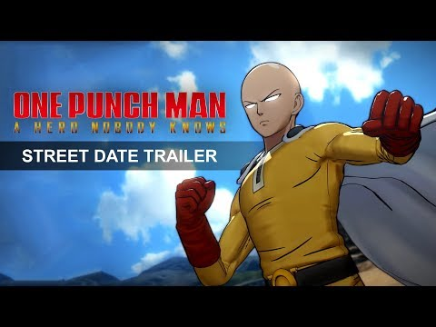 One Punch Man : A Hero Nobody Knows : Trailer annonce date de sortie