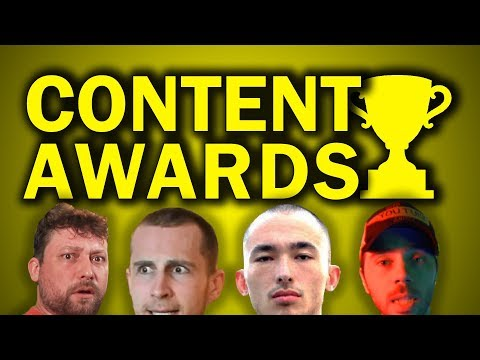 THE CONTENT AWARDS