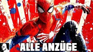 """Spider-Man PS4 Alle Anzüge von """"schlecht"""" bis gut (All Suits 38)"""