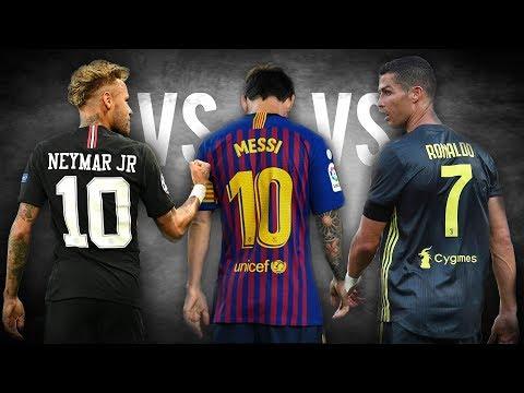 Download Cristiano Ronaldo Vs Lionel Messi Vs Neymar Jr ● Who's Best 2018/2019 || HD HD Mp4 3GP Video and MP3