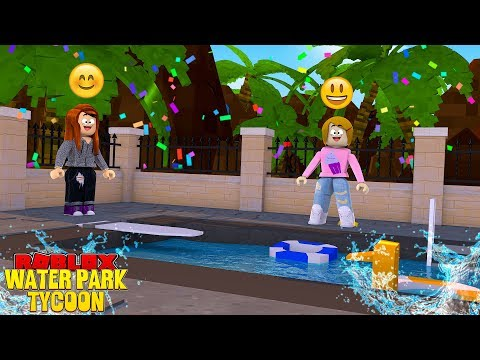 Download Roblox Waterpark Tycoon With Molly And Daisy Mp4